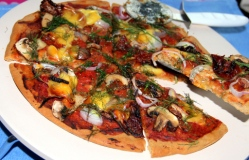 oats-pizza-with-mushroom