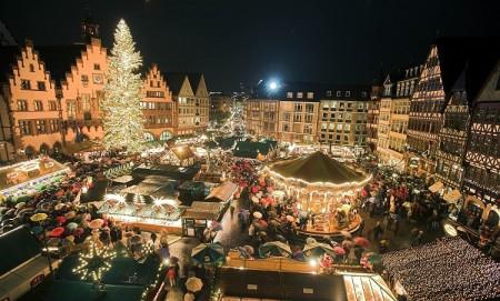 Frankfurter Weihnachtsmarkt eröffnet