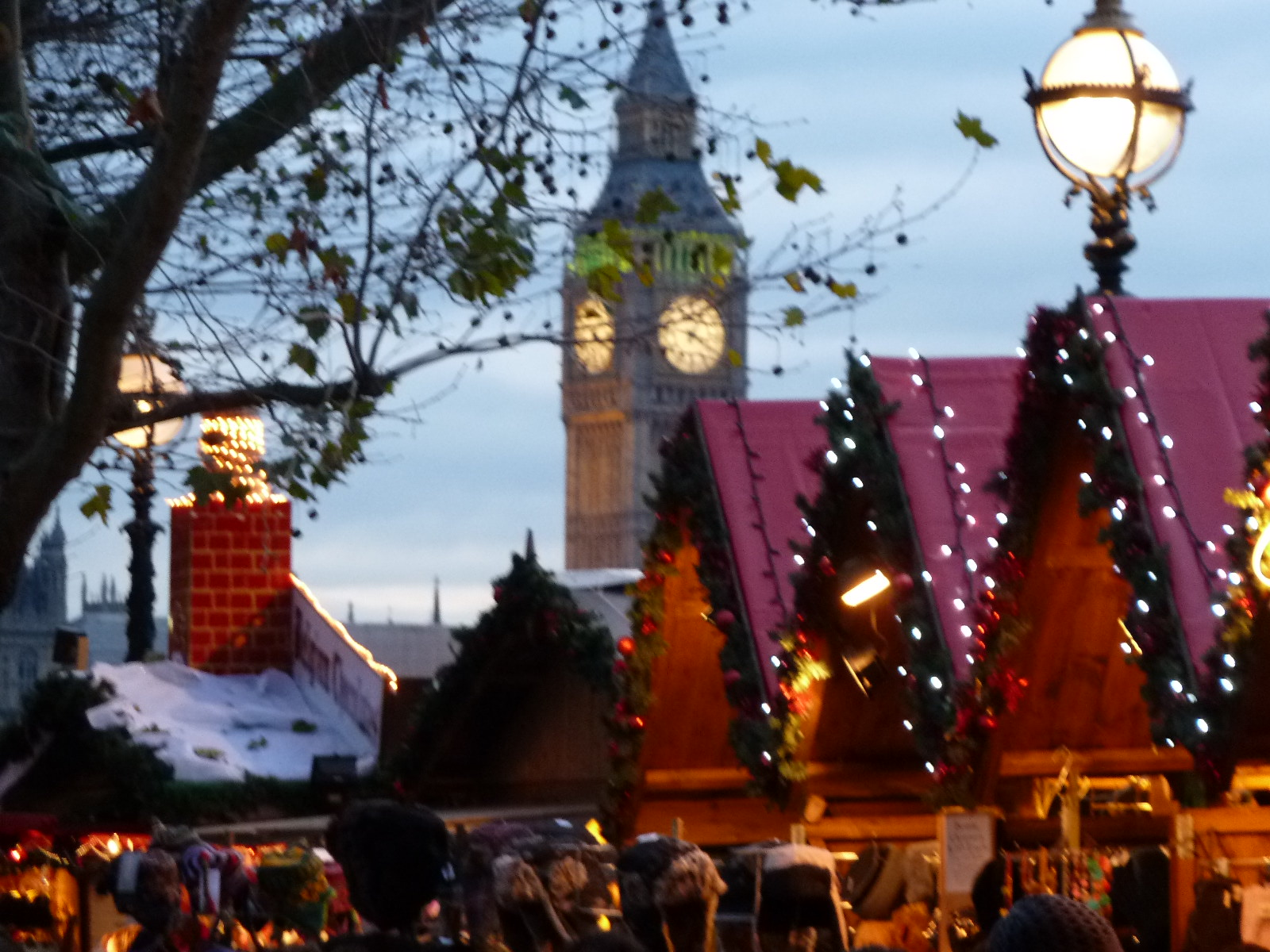 london christmas market when